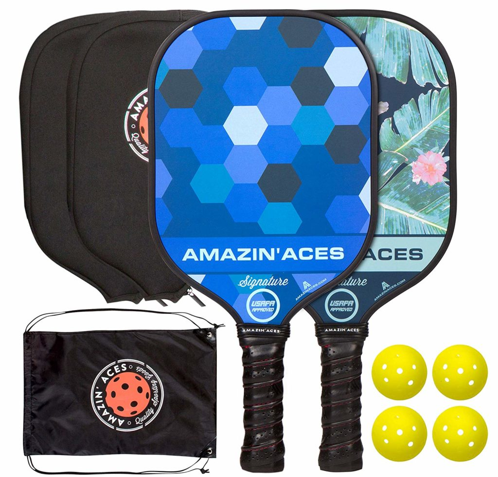 Amazin' Aces Pickleball Paddles