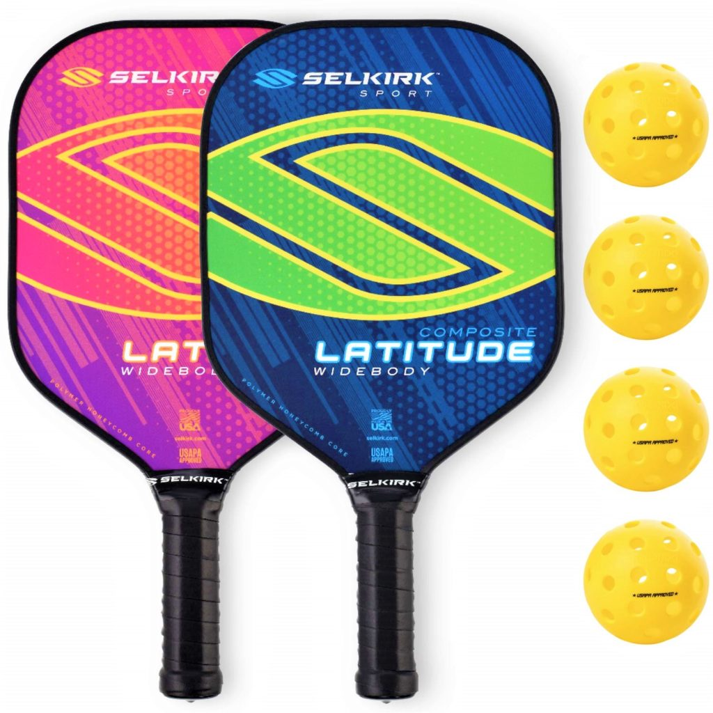 Widebody pickleball paddle form